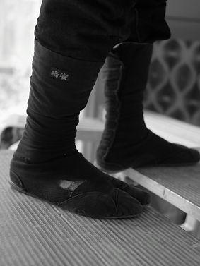 職人の足元は地下足袋でしょ。