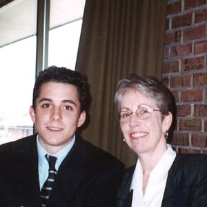 Charles & Mom 2003