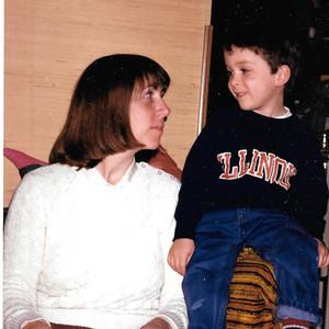 Charles (age 3) & Mom
