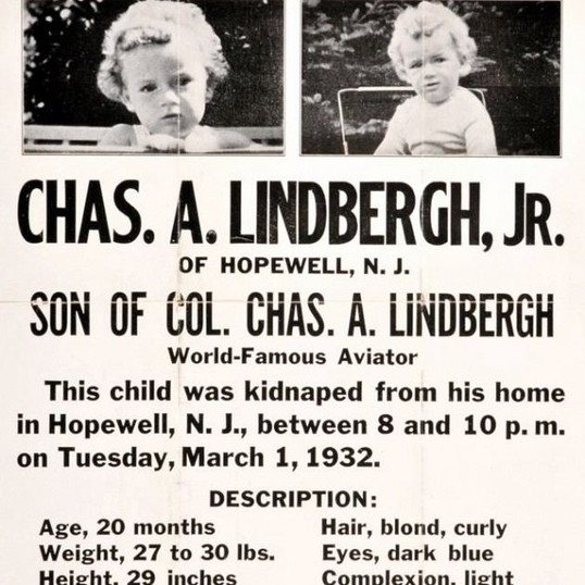 Episode 27 // The Lindbergh Baby Kidnapping