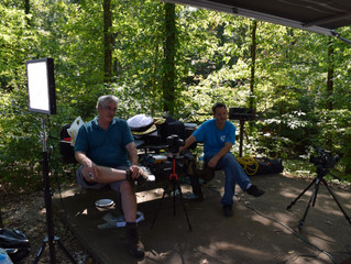 Filming a Commercial in Tennessee.
