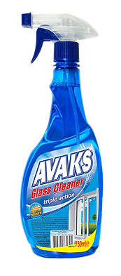 AVAKS Glass Cleaner 750ml pump