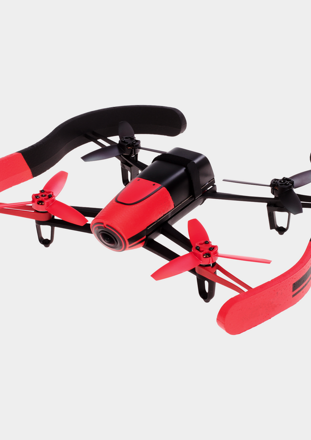 Black and Red Drone