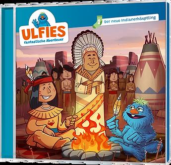 """Hörspiel-CD """"Ulfies fantastische Abenteuer - 01 Der neue Indianerhäuptling"""""""