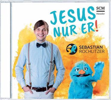 """Musik-CD """"Jesus, nur Er!"""""""