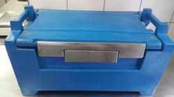Hot Box Azul Fechado