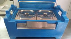 Hot Box Azul Aberto