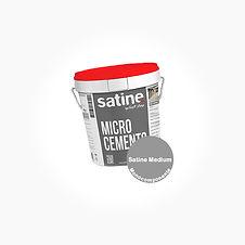 Mikrosement fra Satine - Porcelanico Med