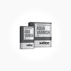 Satine - Vannbasert lakk, matt. Stort bi