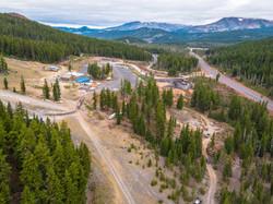 Mt. Bachelor Zipline Construction