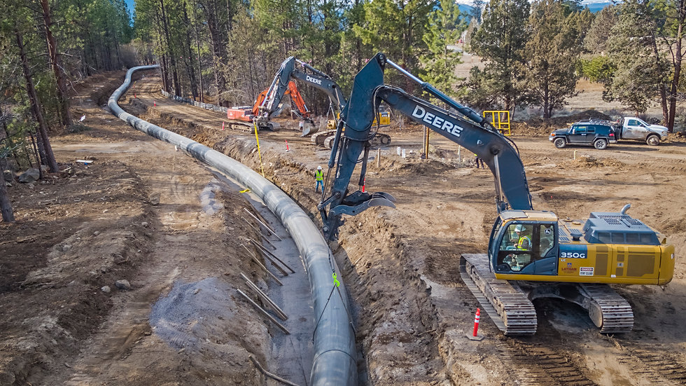 Tumalo Irrigation District Canal Burial Project