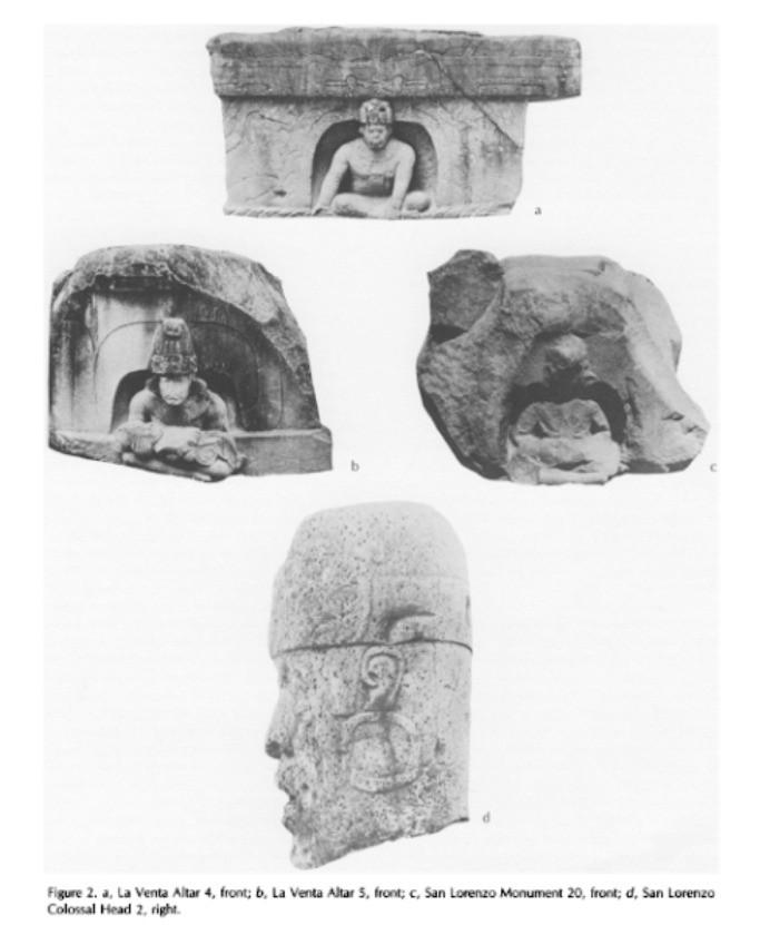 Olmec Recarving