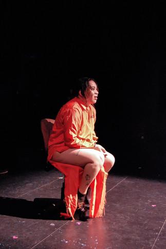 The Hungry Woman, interrogation scene