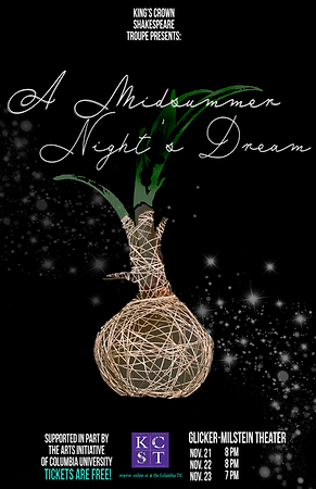 Midsummer Night's Dream Poster