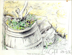 Barrel in Pernes les Fontaines 1986