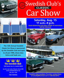 Swedish Club Annual Car Show