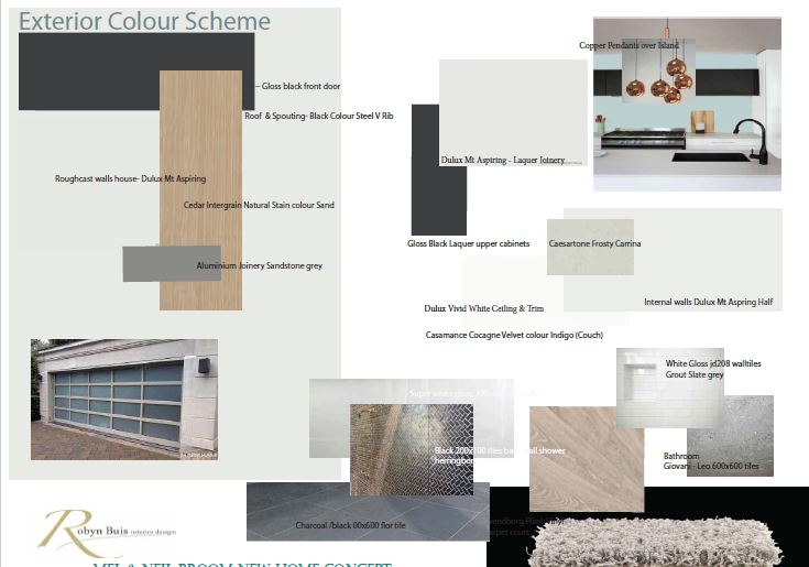 Christchurch Home Concept Board