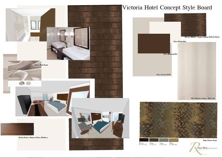 Hotel Concept Board