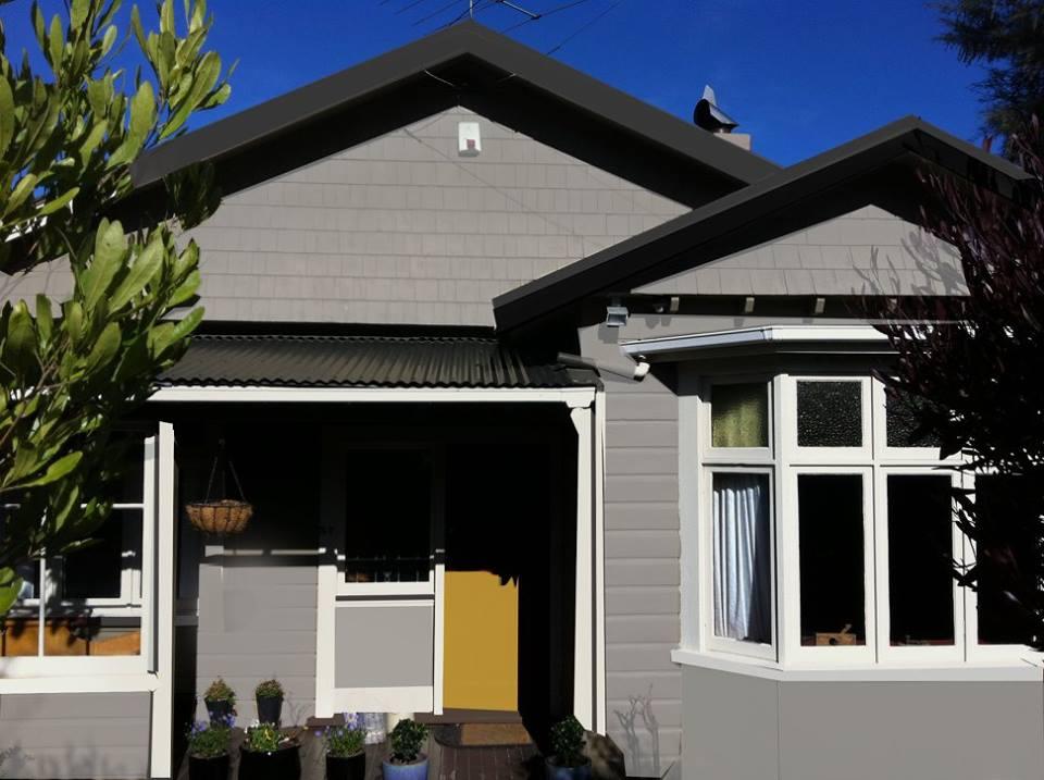 Exterior rendering Dunedin