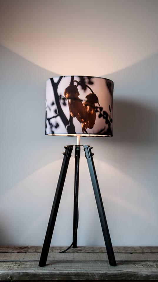 Kowhai lampshade