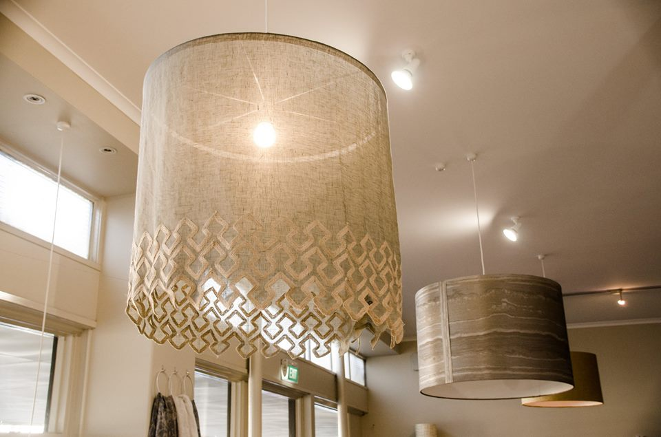 Mokum Fabric Lampshade