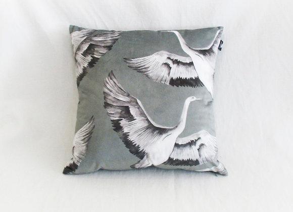 Velvet Crane Cushions