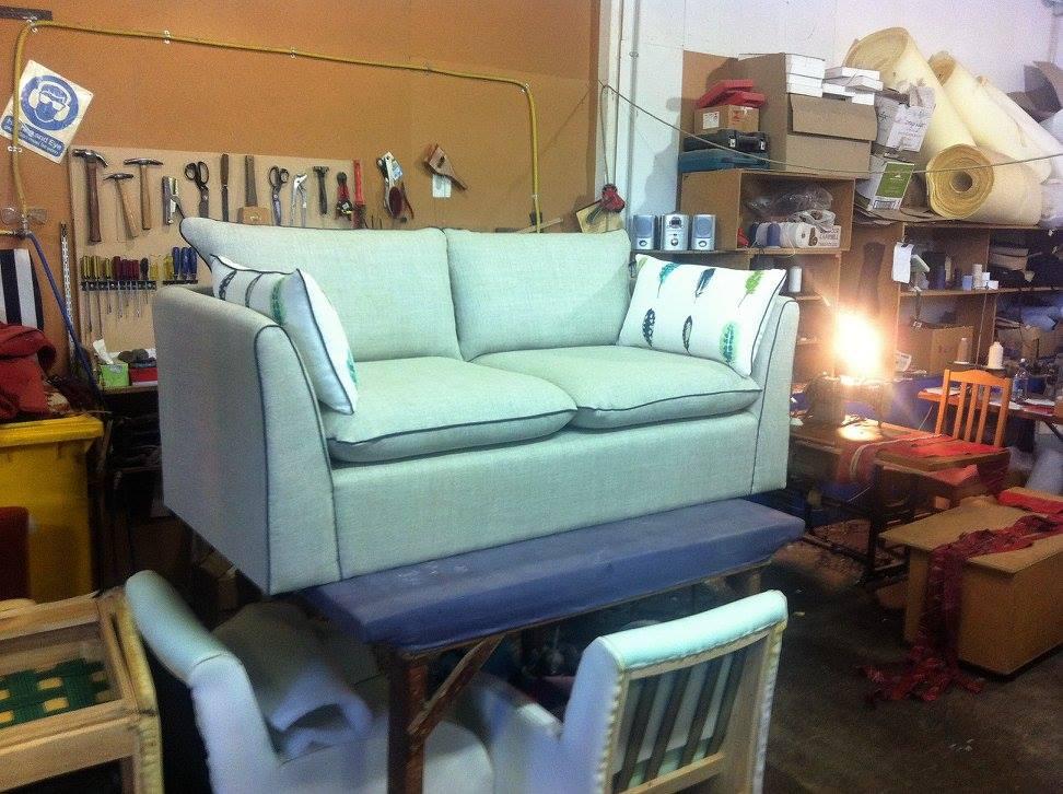 Custom Upholstery Linen