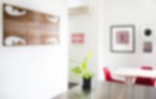 Maori inspired art red stainlss steel countertop