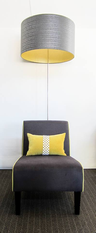 robyn buis design mustard cushion