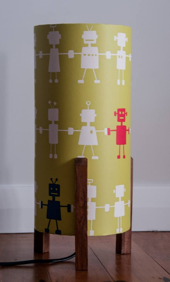 Robot custom made lamp