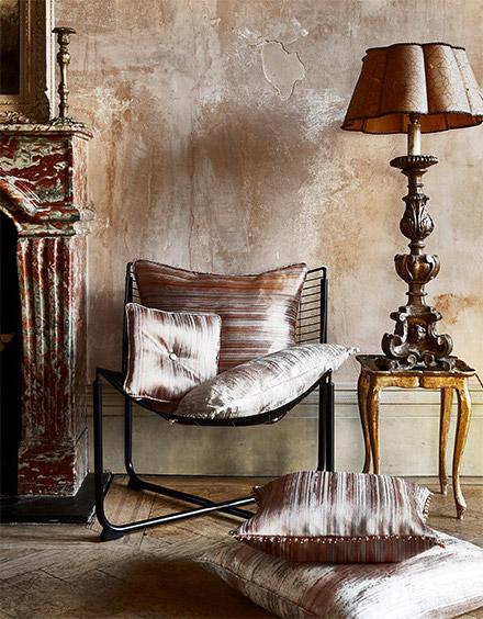panoramic fabric cushion cover