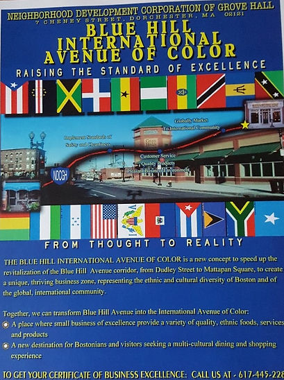 Blue Hill International Avenue Flyer
