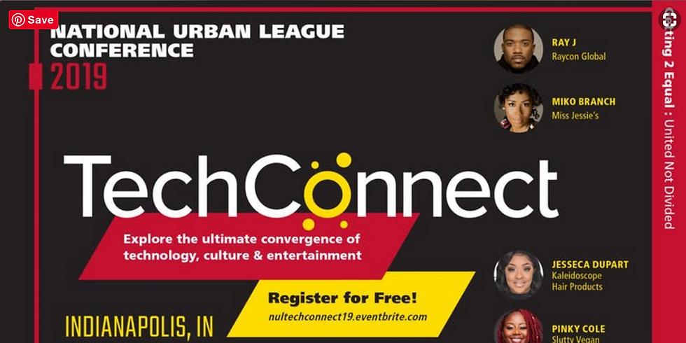 2019 National Urban League TechConnect Summit - Keynote