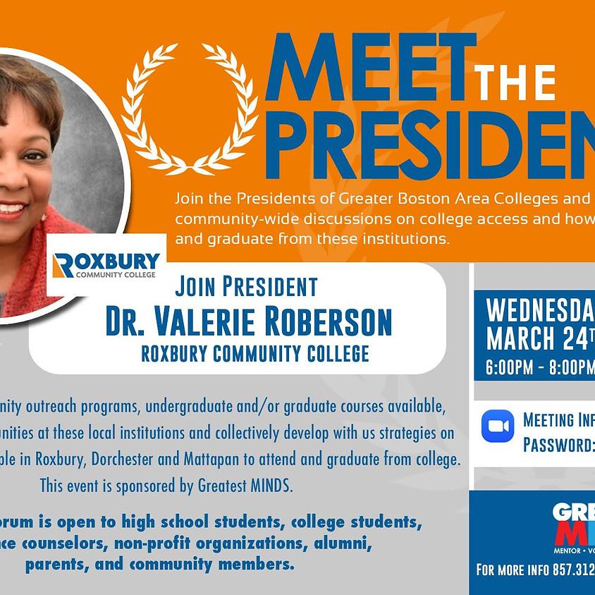 Meet the President RCC