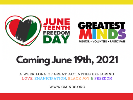 WELCOME TO JUNETEENTH 2021
