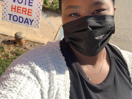 """""""Why I Vote!"""" by Tryphose Asra"""