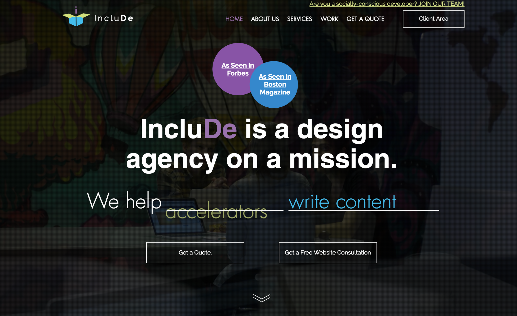 IncluDe Innovation: Boston Web Design & Digital Marketing Agency