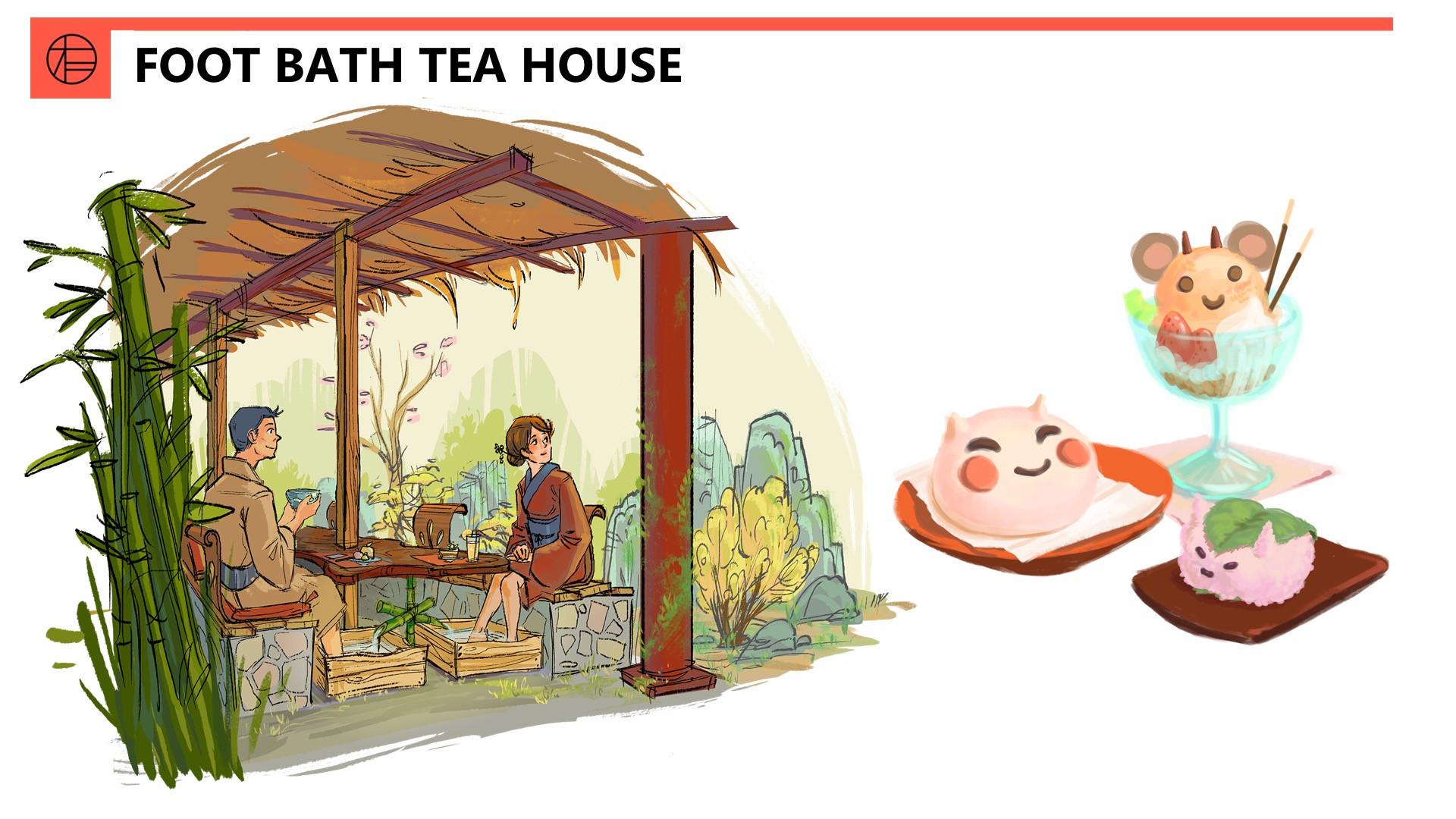 Foot Bath Tea House