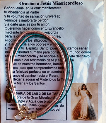 PULSERA JESÚS DE LA MISERICORDIA PU01