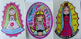 STICKERS VIRGEN LUPITA