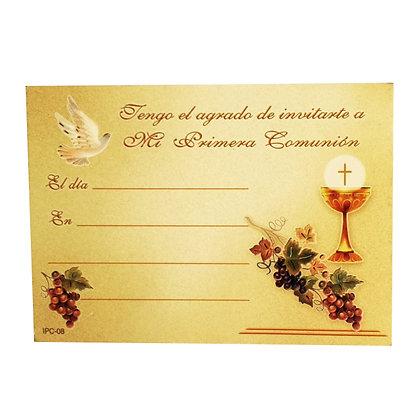 INVITACIÓN COMUNIÓN C1