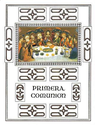 ALBUM PRIMERA COMUNIÓN POL63