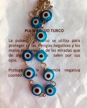 PULSERA OJO TURCO PU05