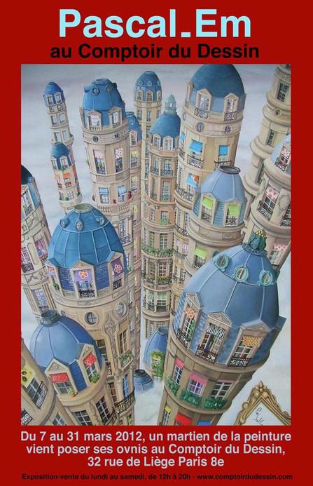 Exposition Comptoir du dessin - 07-31/03/2012 - Paris