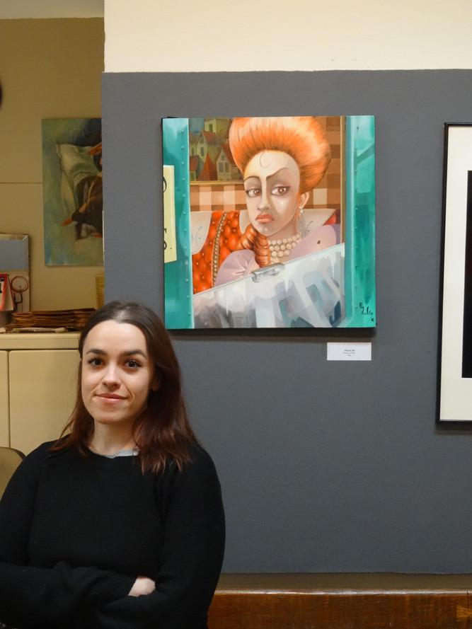 La peinture et le modèle / The painting and the model / La pintura y la modelo