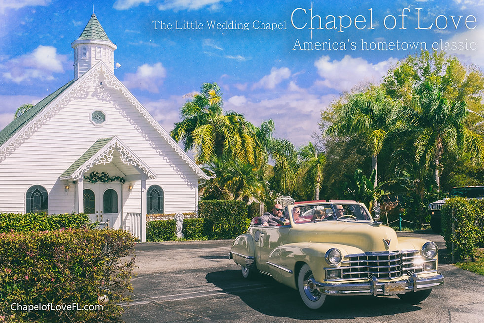 Wedding Chapel Venue and garden property