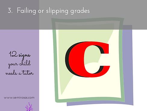 Tutoring_Failing or Slipping Grades