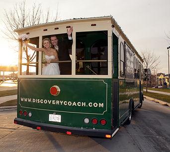 Porch Trolley Wedding