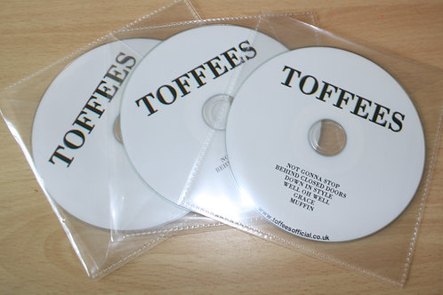Toffees' 2019 CD