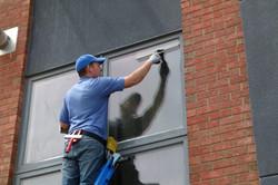 windows at a condo job
